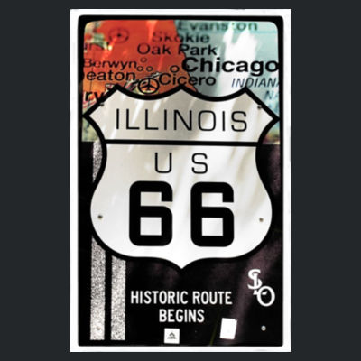 Route 66 Historic Route Begins Design